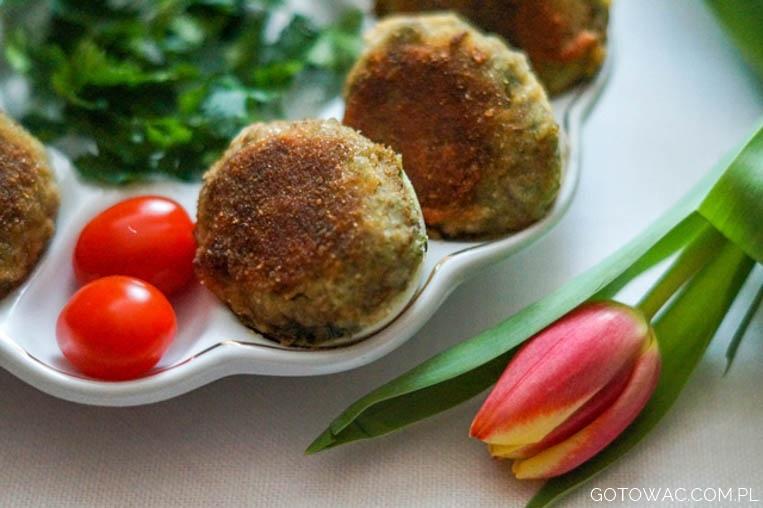 Panierowane jajka z pieczarkowym farszem (Mama uczy gotować!)