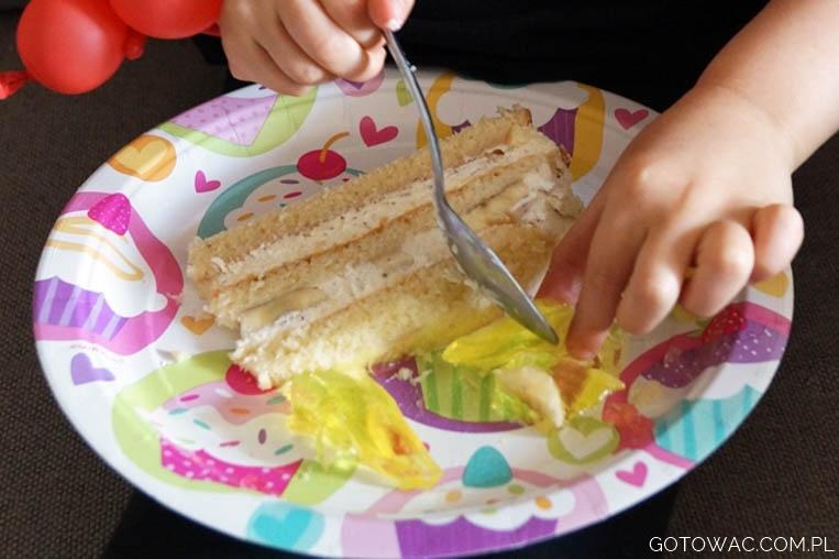 Tort bananowy z mascarpone
