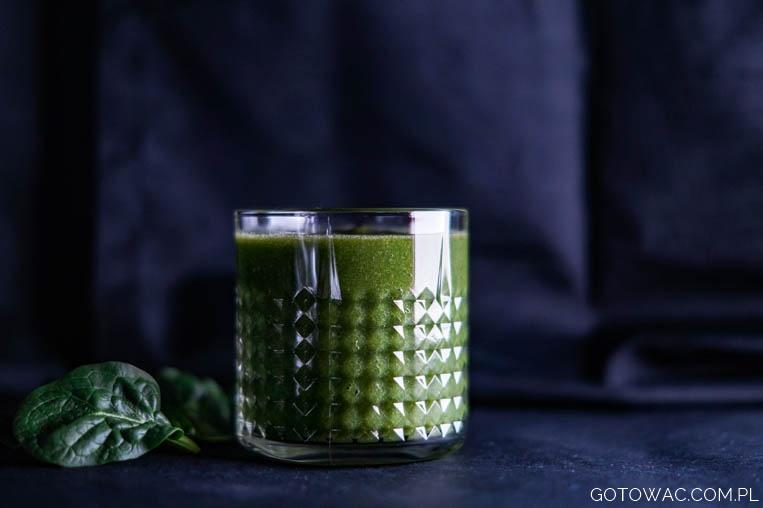 Zielony koktajl na zdrowie